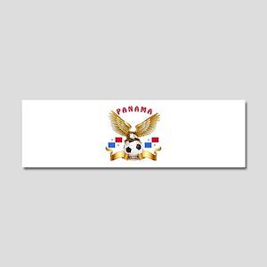 Panama Football Design Car Magnet 10 x 3