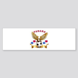 Panama Football Design Sticker (Bumper)