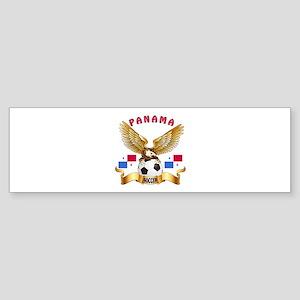 Panama Football Design Sticker (Bumper)