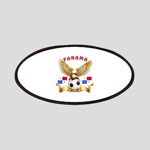 Panama Football Design Patches