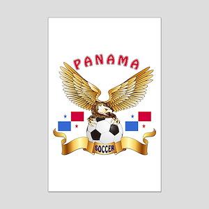 Panama Football Design Mini Poster Print