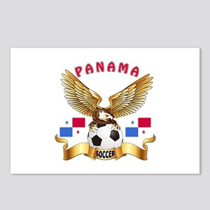 Panama Football Design Postcards (Package of 8)