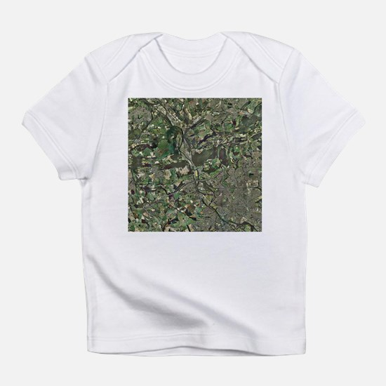 Cardiff, aerial photograph - Infant T-Shirt