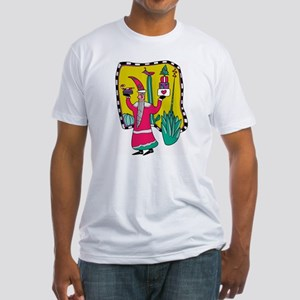 Cactus Santa Fitted T-Shirt