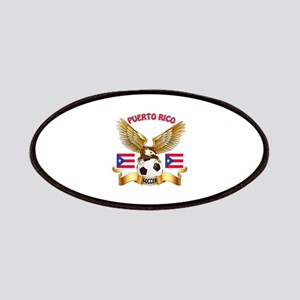 Puerto Rico Football Design Patches