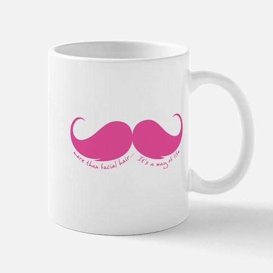More than facial hair... Mug
