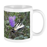 Tiger on Bull Thistle Mug