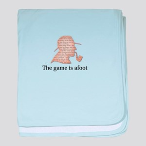 the game is afoot Sherlock Holmes mystery tee baby