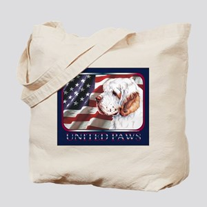 Clumber Spaniel United Paws Tote Bag
