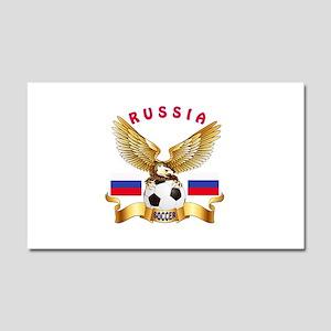 Russia Football Design Car Magnet 20 x 12