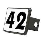 42 Rectangular Hitch Cover