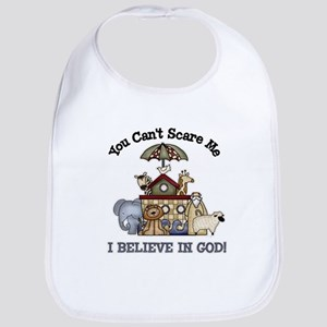 I believe in God Bib