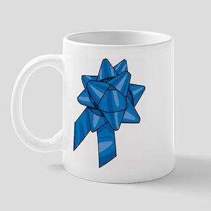 Blue Ribbon Right-handed Mug