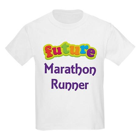 Future Marathon Runner Kids Light T-Shirt