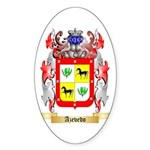 Azevedo Sticker (Oval 10 pk)