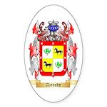 Azevedo Sticker (Oval 50 pk)