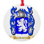 Azam Round Ornament