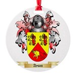 Ayson Round Ornament