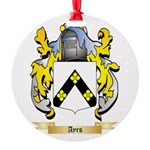 Ayrs Round Ornament