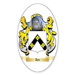 Ayr Sticker (Oval 50 pk)