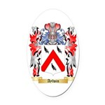 Aylwin Oval Car Magnet