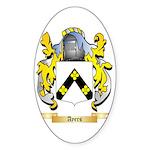 Ayers Sticker (Oval 50 pk)