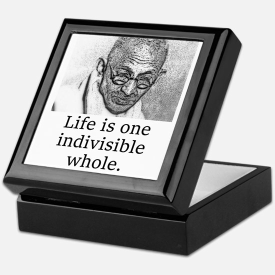 Life Is One Indivisible Whole - Mahatma Gandhi Kee