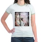 Statue of Liberty Jr. Ringer T-Shirt
