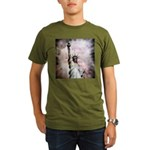 Statue of Liberty Organic Men's T-Shirt (dark)