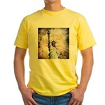 Statue of Liberty Yellow T-Shirt