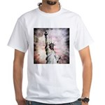 Statue of Liberty White T-Shirt