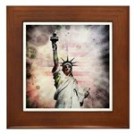 Statue of Liberty Framed Tile