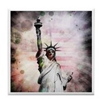 Statue of Liberty Tile Coaster