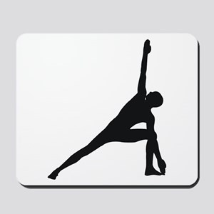 Bikram Yoga Triangle Pose Mousepad