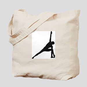Bikram Yoga Triangle Pose Tote Bag