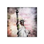 Statue of Liberty Square Sticker 3
