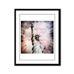 Statue of Liberty Framed Panel Print