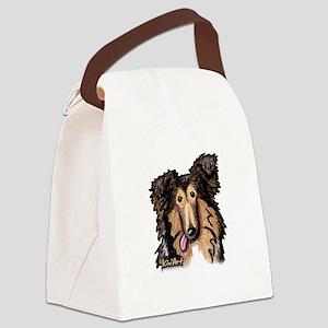 Shetland Sheepdog Canvas Lunch Bag
