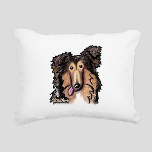 Shetland Sheepdog Rectangular Canvas Pillow