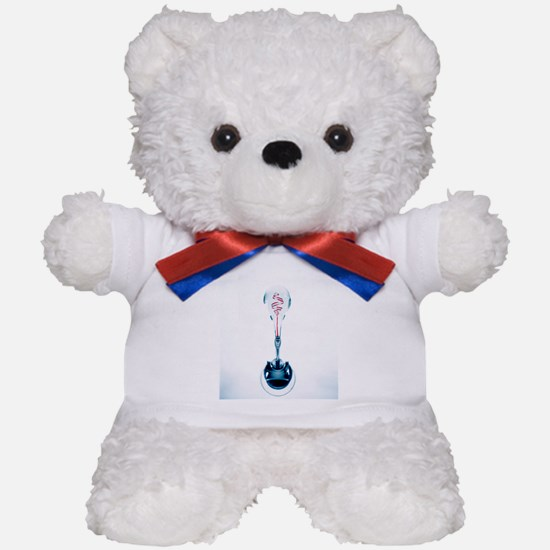 Genetic research, conceptual image - Teddy Bear