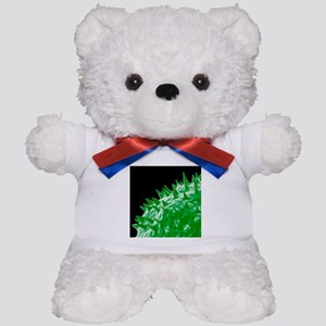 Influenza virus protein spikes - Teddy Bear