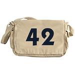 42 (Blue) Messenger Bag