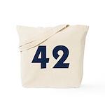 42 (Blue) Tote Bag