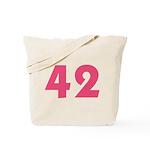 42 (Pink) Tote Bag