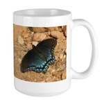 Red-spotted Purple Butterfly Large Mug