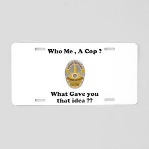 LAPD ? Aluminum License Plate