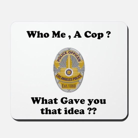 LAPD ? Mousepad