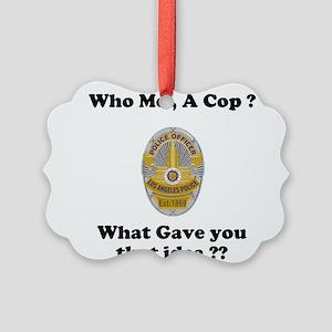 LAPD ? Picture Ornament