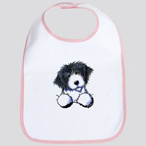 Pocket Bearded Collie Bib