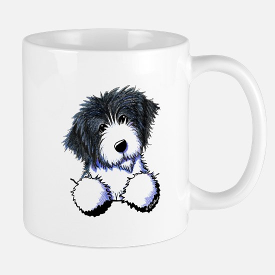 Pocket Bearded Collie Mug